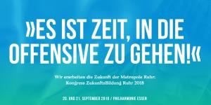 ZukunftsBildung Ruhr 2018 Website
